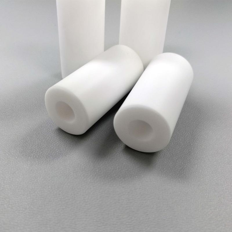 Machinable glass ceramic tube