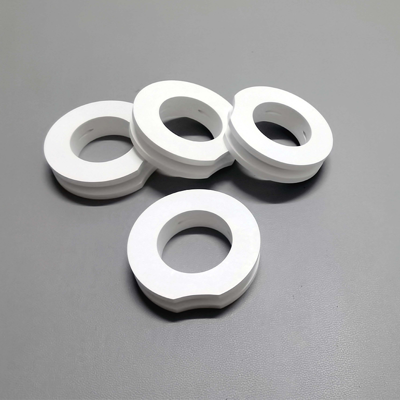 Boron nitride ring for electrical insulation
