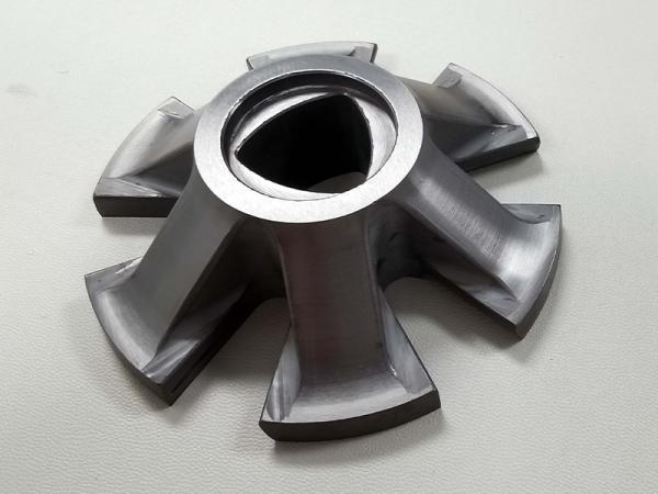 Silicon nitride ceramic turbine rotor